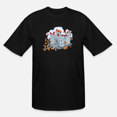Sieg The Siege - Men's Tall T-Shirt