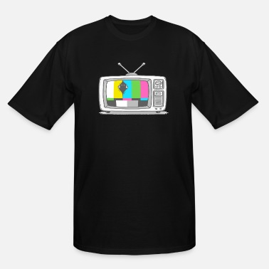 Watch Tv Watching TV - Men's Tall T-Shirt