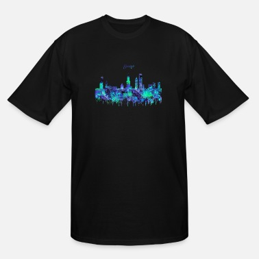 Chicago Chicago, Chicago Illinois - Men's Tall T-Shirt