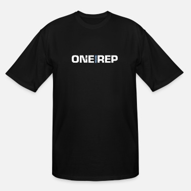 Muscular One more Rep - Bodybuilding - Muscle - Bodybuilder - Men's Tall T-Shirt