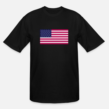 Stars And Stripes United states of America Stars and Stripes flag - Men's Tall T-Shirt