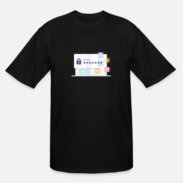Anonymous Anonymity - Men's Tall T-Shirt
