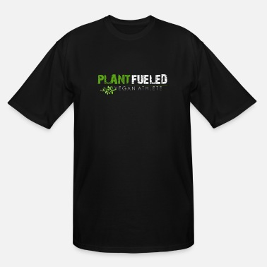 Diet Plant Fueled Vegan Athlete - Men's Tall T-Shirt