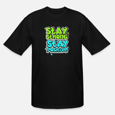 Word Positive Quote (8) - Men's Tall T-Shirt