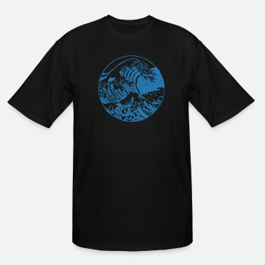 Wave Great Wave - Men's Tall T-Shirt