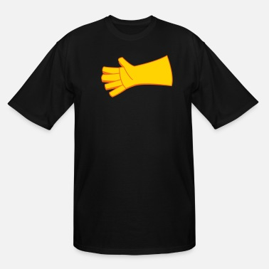 Two Colored two color glove  - Men's Tall T-Shirt