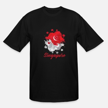 Singapore Singapore - Men's Tall T-Shirt