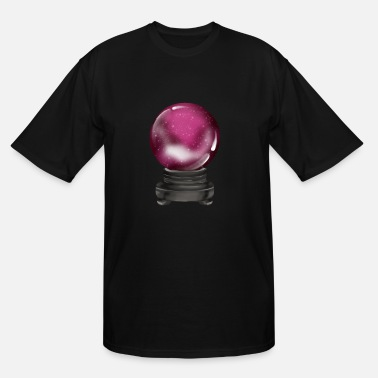 Fortune Telling Glass Ball Future See Fortune Telling - Men's Tall T-Shirt