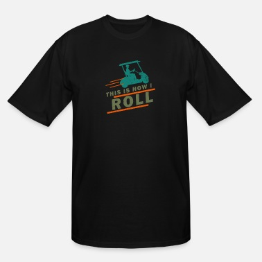Funny Golf Golf - Men's Tall T-Shirt