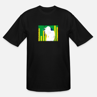 Tuning Brazilian equalizer flag shirt - Men's Tall T-Shirt