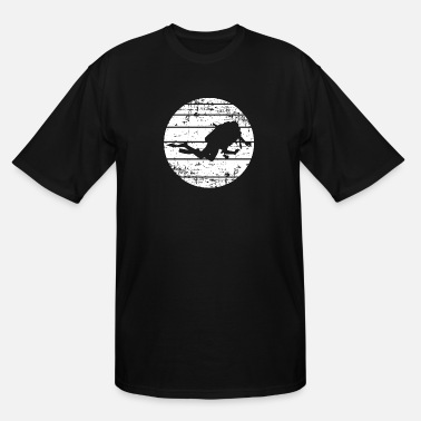 Egypt I am a professional diver - Men's Tall T-Shirt