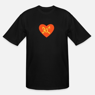 I Heart Football Women's Football I Love Kansas City Heart KC - Men's Tall T-Shirt