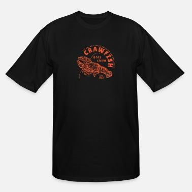 Texas Crawfish Crew Funny Retro Texas Southern Seafood G - Men's Tall T-Shirt