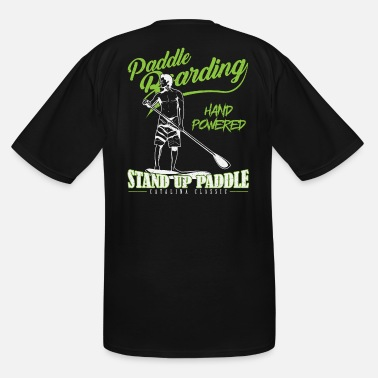 Stand paddle boarding stand up paddle gift - Men's Tall T-Shirt