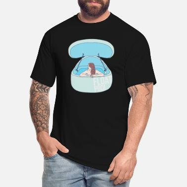 Float Tank Float Pod - Water Tank - Sensory Deprivation - Men's Tall T-Shirt
