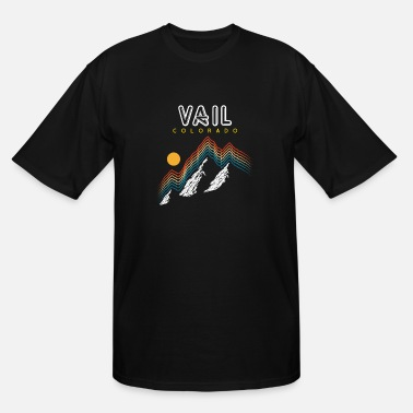 Usa Vail Colorado Usa Ski Resort 1980S Retro - Men's Tall T-Shirt