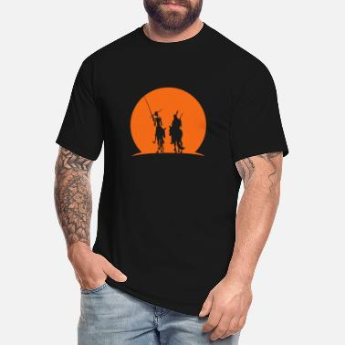 Quijote Heroes at Sunset - Men's Tall T-Shirt