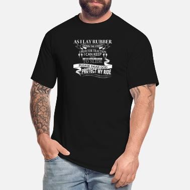 Muscle Car Muscle Car Racing Prayer - Men's Tall T-Shirt