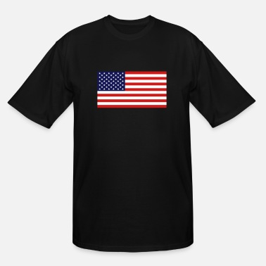 Usa USA Flag - Men's Tall T-Shirt