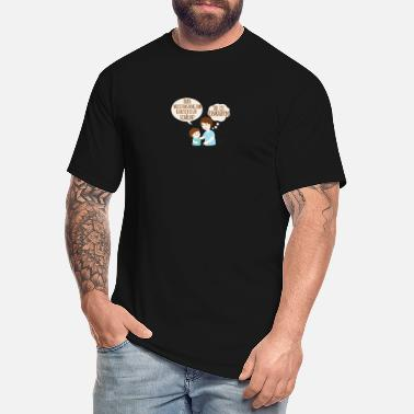 She S Nuts Dad, where's that potato peeling thing? She's s - Men's Tall T-Shirt