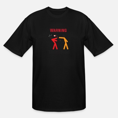 Warn Warning - Men's Tall T-Shirt