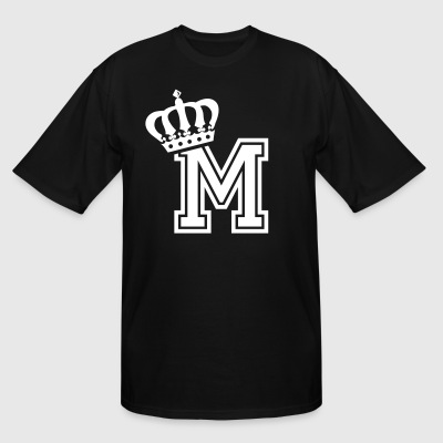 Name: Letter M Character M Case M Alphabetical M - Men's Tall T-Shirt
