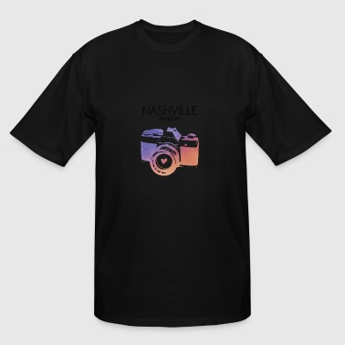 Camera Nashville - Men's Tall T-Shirt