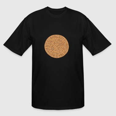 Phaistos disc - Greece - Men's Tall T-Shirt