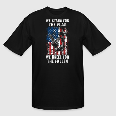 We Stand For The Flag TShirt - Men's Tall T-Shirt