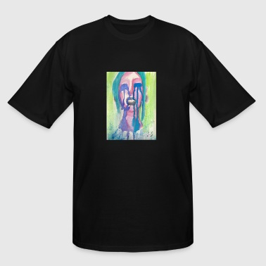 Rainbow Cries by Jessica J - Men's Tall T-Shirt