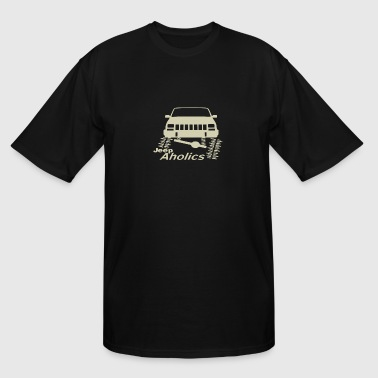 Jeep Aholics - Men's Tall T-Shirt