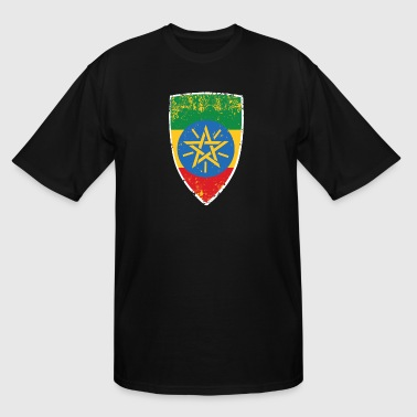 Flag of Ethiopia - Men's Tall T-Shirt