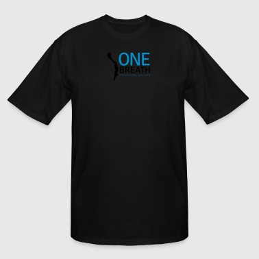 One Breath Freediving Culture – 3 colors - Men's Tall T-Shirt