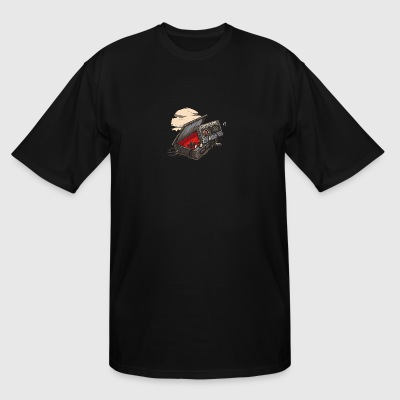 Dead Man Walkman - Men's Tall T-Shirt
