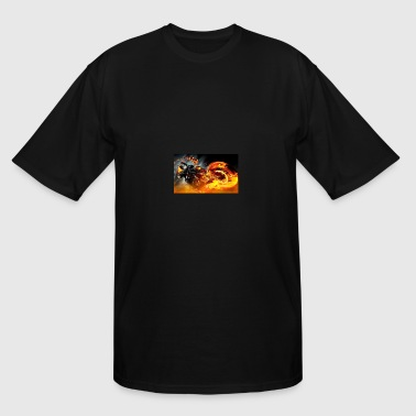 The Ghost Rider - Men's Tall T-Shirt