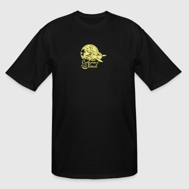 Cretaceous Beach - Men's Tall T-Shirt