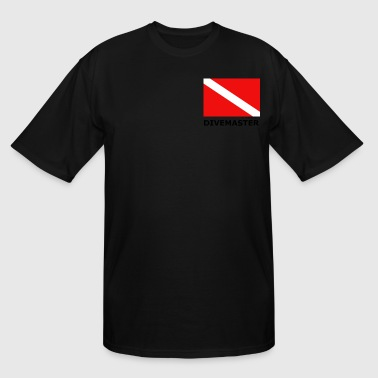 DIVEMASTER - Men's Tall T-Shirt