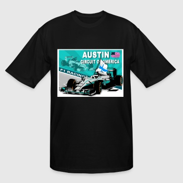 Austin - Formula 1 - Men's Tall T-Shirt