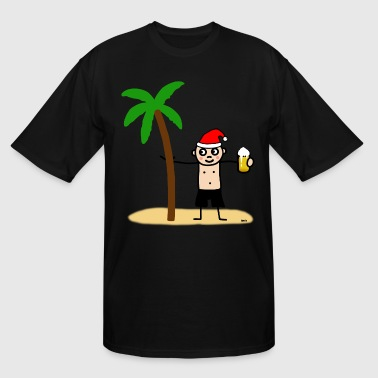 Christmas on the island - Men's Tall T-Shirt
