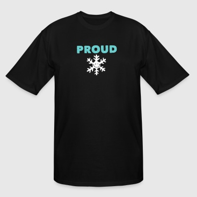 Proud precious little snowflake - Men's Tall T-Shirt