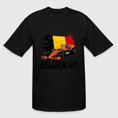 Formula One - Formula 1 - Belgium Flag - Men's Tall T-Shirt