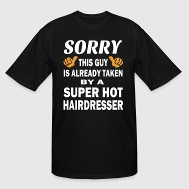Sorry this guy is already taken by a super hot hai - Men's Tall T-Shirt