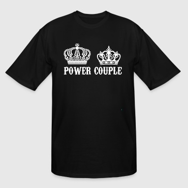 power couple - Men's Tall T-Shirt