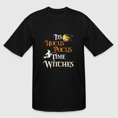 It's Hocus Pocus Time Witches - Men's Tall T-Shirt