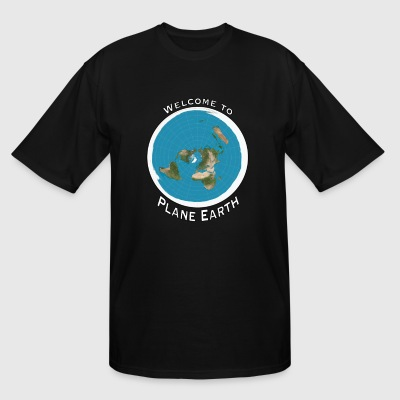 Welcome to Plane Earth - Men's Tall T-Shirt