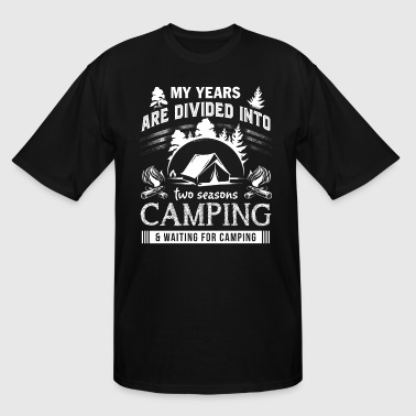 Camping T Shirt - Men's Tall T-Shirt