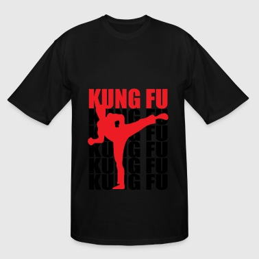 Kung Fu - Men's Tall T-Shirt