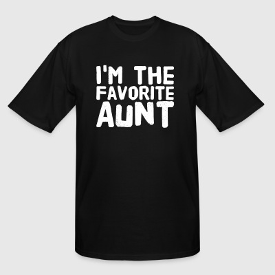 i'm the favorite aunt - Men's Tall T-Shirt