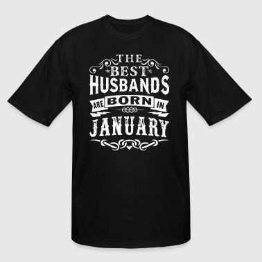The best husbands are born in January - Men's Tall T-Shirt