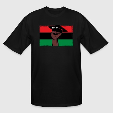 Black And Educated - Men's Tall T-Shirt